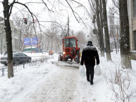 Завтра в Запорожье ожидается снег