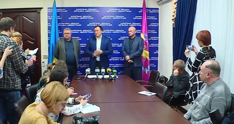 Завтра о 9 ранку на території Запорізької області вводиться режим воєнного стану