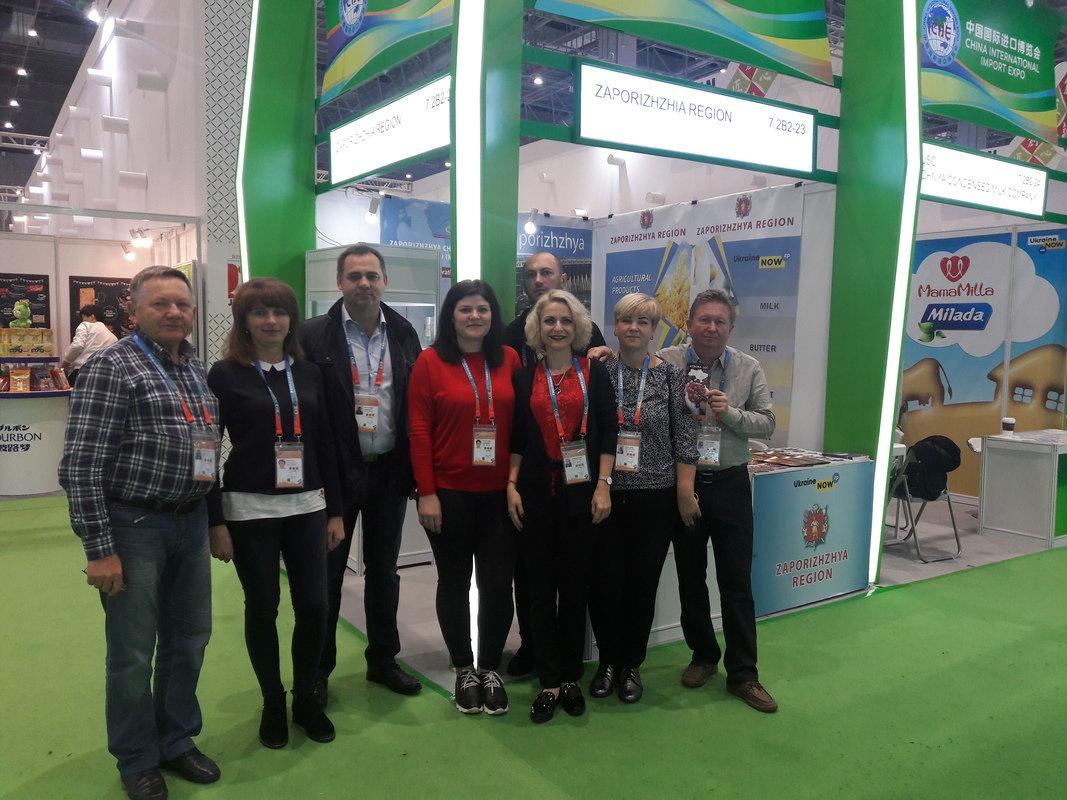 Запорожские аграрии впервые представили свою продукцию на глобальной выставке в Китае, – ФОТО