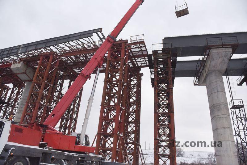 надвижка мост