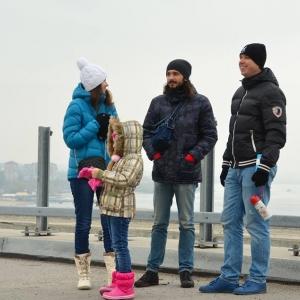 Запорожцы флешмобом требуют мостов (ФОТО) - 12.11.2018, 11:17