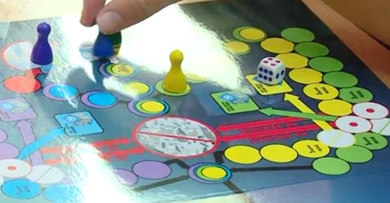 Запорізький школяр вигадав настільну екологічну гру, яка навчить дітей правильно сортувати сміття