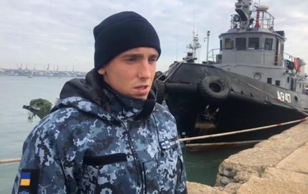 Захваченных украинских моряков доставили в суд Симферополя