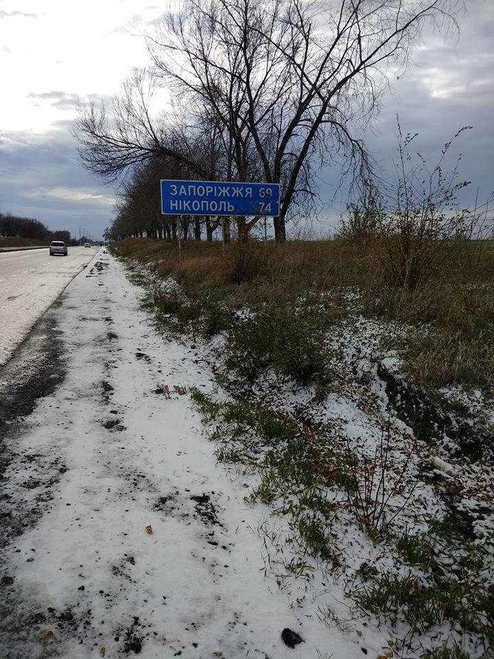Казак-марафонец устроил забег между Запорожьем и соседним Днепром