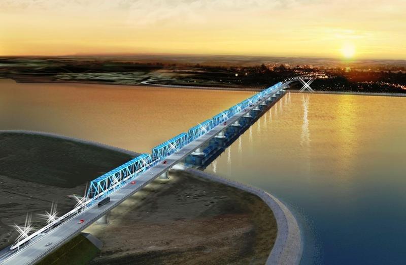 Киевская фирма, которая проектировала мосты для Туркмении и Казахстана, займется корректировкой проекта строительства запорожских мостов
