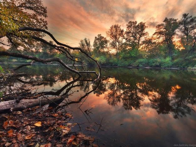 Креативненько: полюбуйся красочными фото осенней Хортицы
