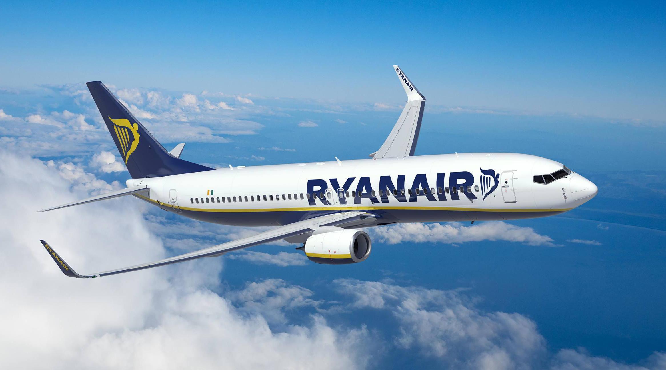 Крупнейший лоукостер Ryanair откроет 5 новых авиарейсов из Киева в Европу