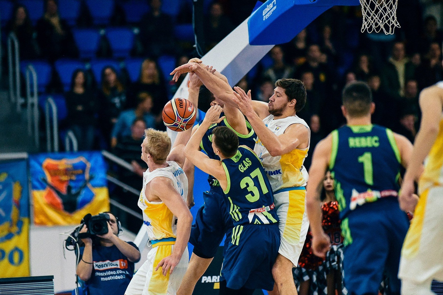 Матч сборной Украины против сборной Словении в фотографиях