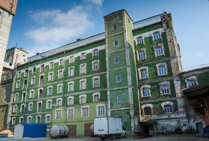 Мельница была построена в 1895 году и на то время была передовым промышленным объектом