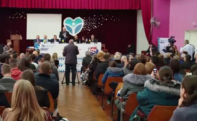 На Всеукраїнській конференції у Запорізькій обласній клінічній лікарні обговорювали питання трансплантології