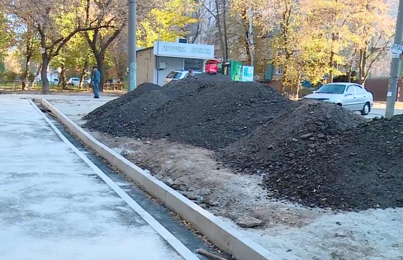 На вулиці Шкільній завершують ремонт внутрішньоквартальних доріг