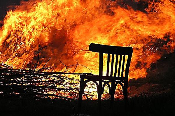 На запорожском курорте при пожаре погиб мужчина