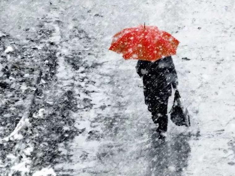 На Запорожскую область надвигается снегопад – Индустриалка