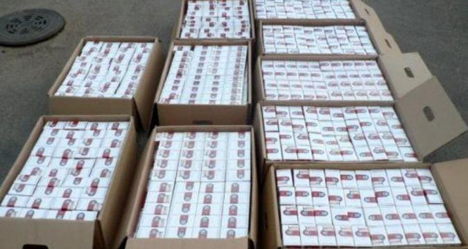 На Львовщине сожгли 37 тыс пачек контрабандных сигарет