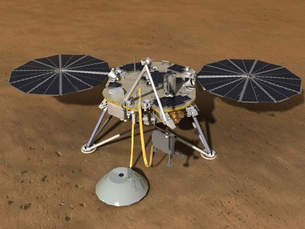 На Марс приземлился зонд NASA: он станет первой станцией, которая будет исследовать недра планеты