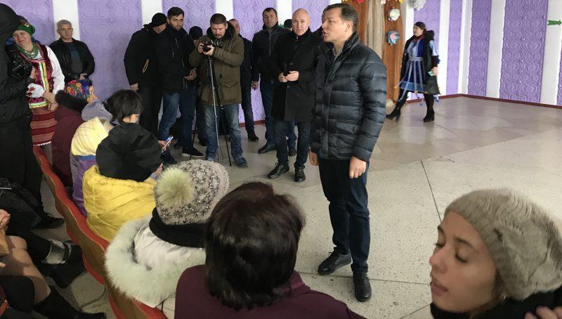 Олег Ляшко в Запорожской области обсудил с селянамицены на молоко и качество продукта – Индустриалка