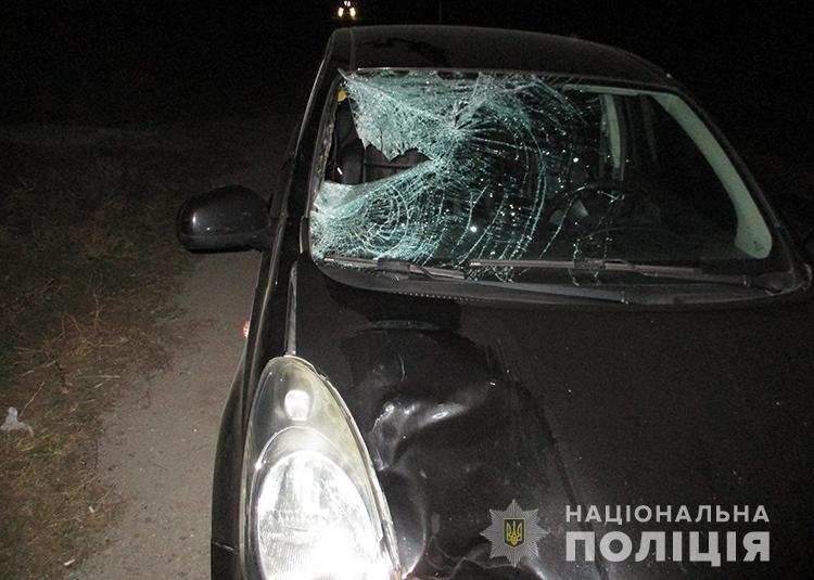 Под Вольнянском на трассе сбили насмерть пешехода