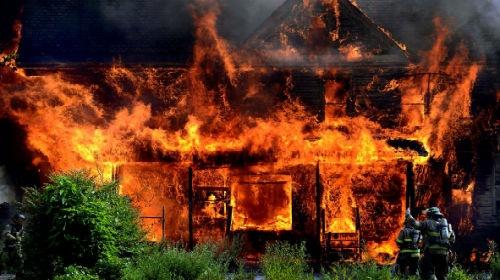 Под Запорожьем пылал дом: погибли трое детей