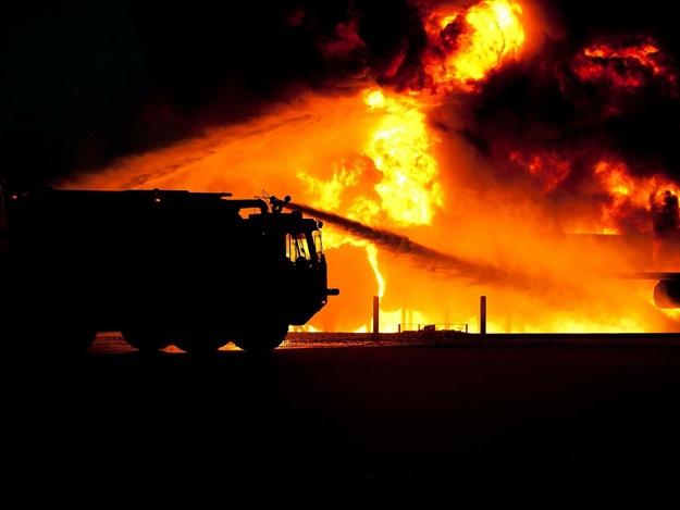 Пожары на Бабурке и Шевченковском: людей спасли пожарные
