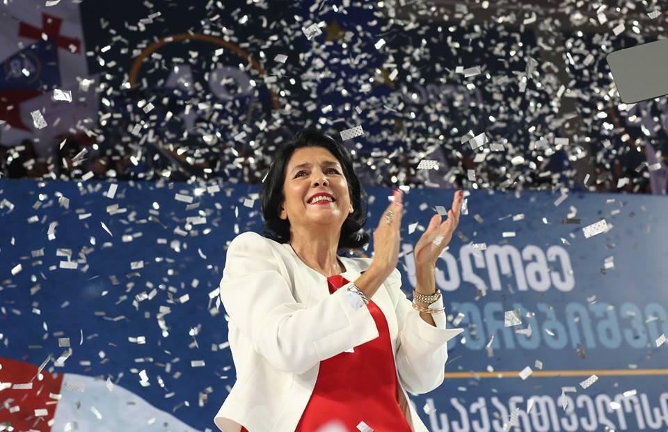 Президентом Грузии впервые в истории страны стала женщина