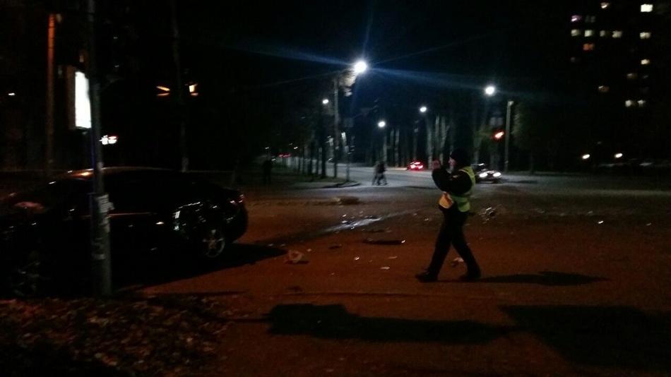 Причиной серьезной аварии в Запорожье стал не работающий светофор