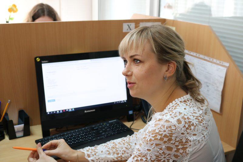 Сотрудник центра Кристина Плеван