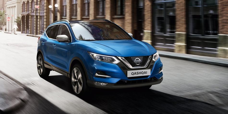 Автомобиль Nissan Qashqai | Фото: nissan.ua