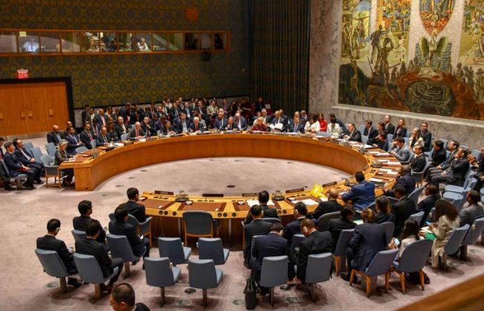 Совбез ООН обсуждает российскую агрессию против Украины в Азовском море (Онлайн-трансляция)