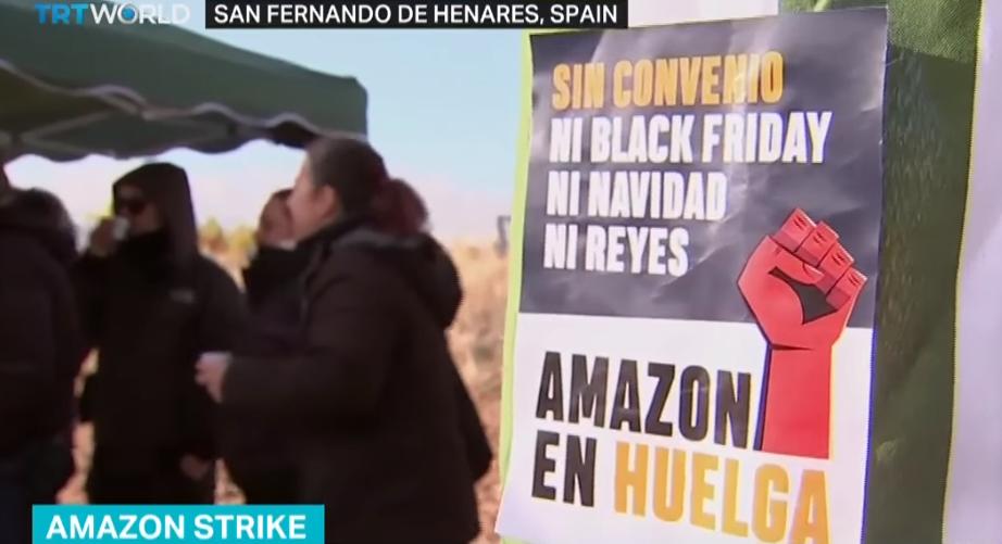 "Сотрудники Amazon устроили митинг в ""черную пятницу"""
