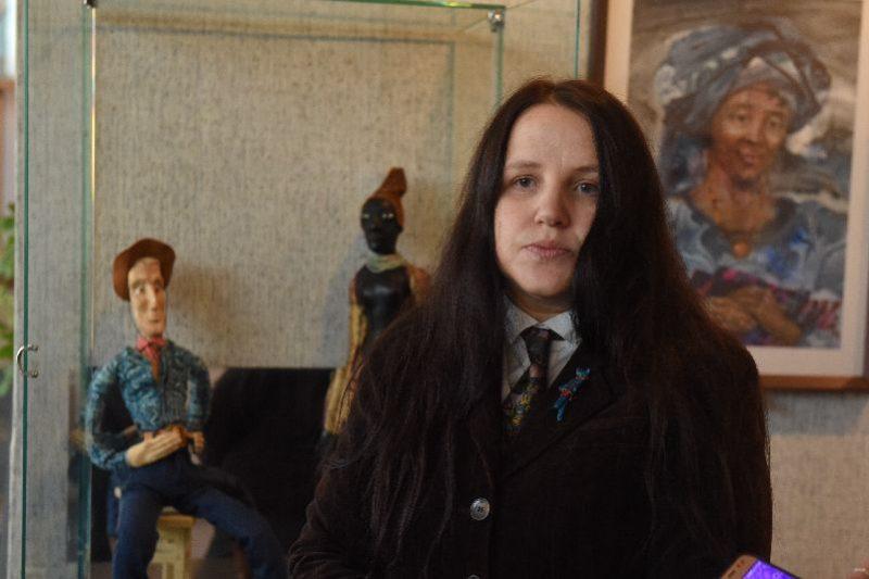 выставка художественной династии Луценко, Анастасия Митькова