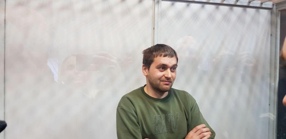 Блогера Александра Барабошко привезли чуть позже, но его дело будет рассматриваться раньше. Фото: Страна