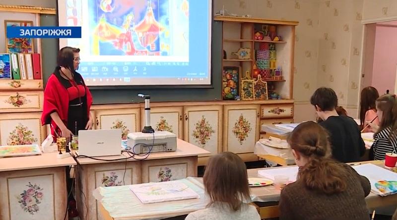 У двох майстернях Запорізького вищого професійного училища встановили сучасні гаджети