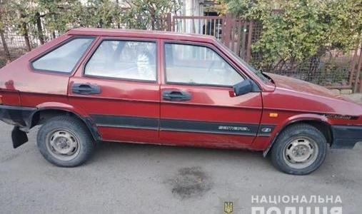 У Запоріжжі зловмисники викрали автівку та їздили на ній по місту