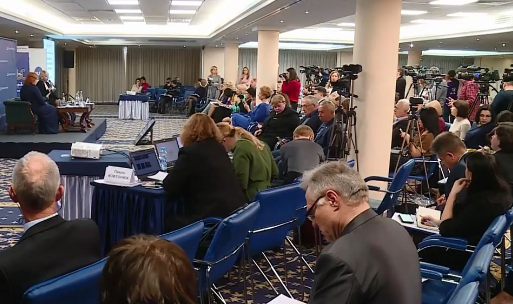 У Києві триває п'ятий Національний прес-клуб реформ на тему «Децентралізація: результати, виклики і перспективи»