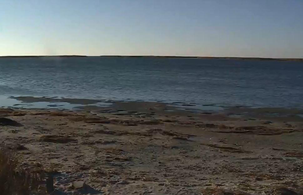 У північно-східних районах Приазов'я море на 2-3 метри відійшло від прибережної лінії
