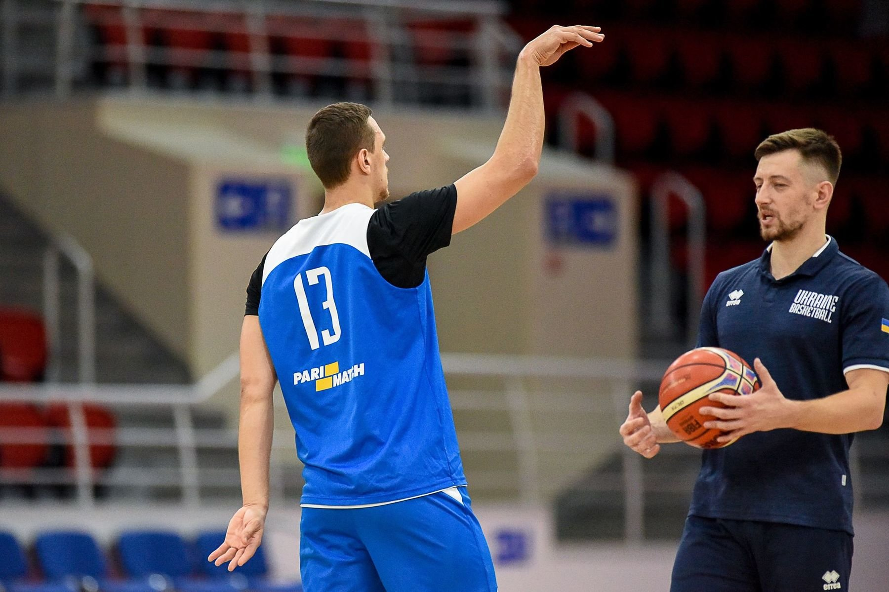 Украинская сборная по баскетболу готовится к матчу против Словении - европейцы в напряжении из-за военного положения, - ФОТО