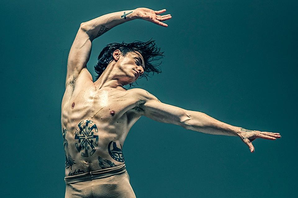 Украинский артист балета Полунин открестился от признания в любви к Путину (Фото)