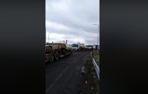 Украинскую военную технику вывозят за границу (Видео)