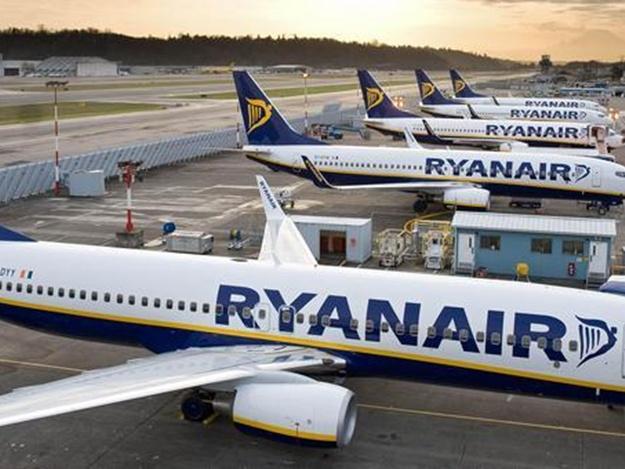 Ryanair открывает новые рейсы в Киев