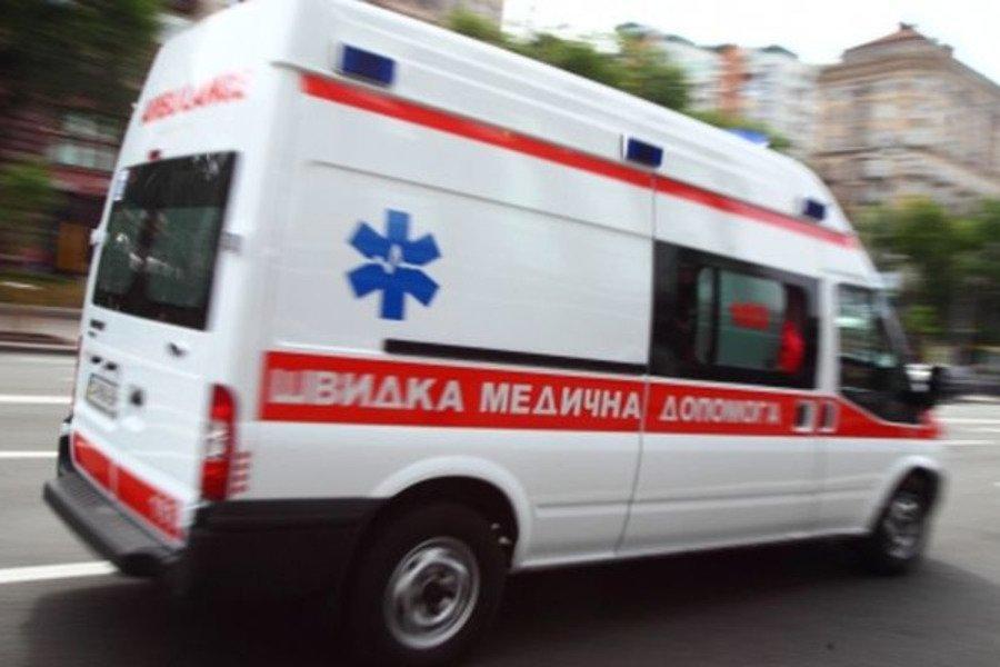 В Мелитополе во время пожара чуть не погиб мужчина