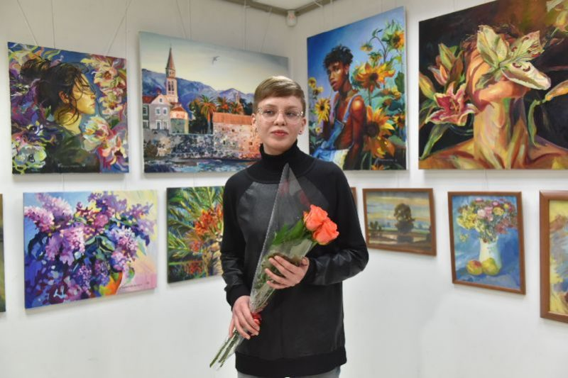 выставка Марии Герасименко «Мне XVIII»