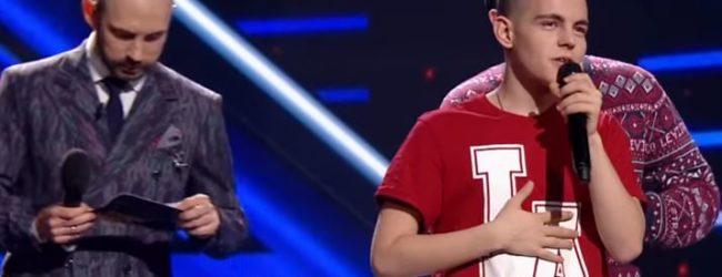 Бердянский певец уступил в финале телевизионного шоу «Х-фактор»