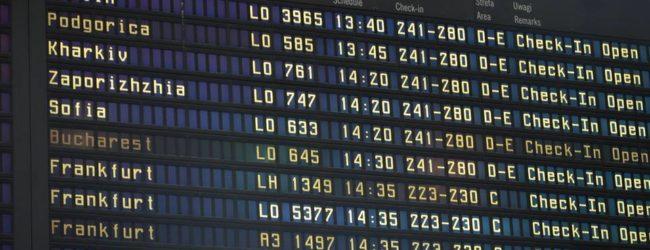 В аэропорту Варшавы украинизировали Запорожье