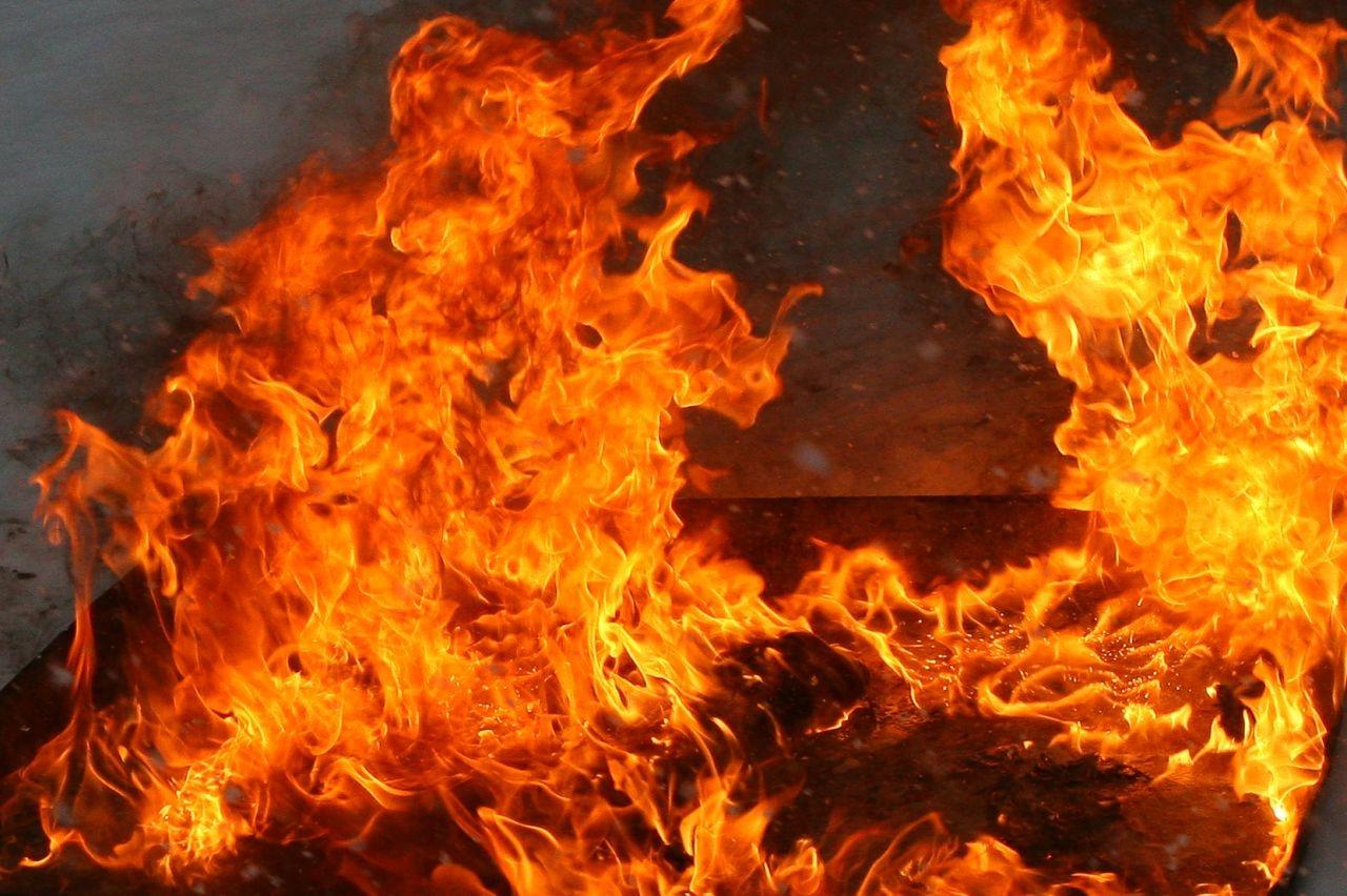 В Запорожской области женщина тушила пожар в собственном доме