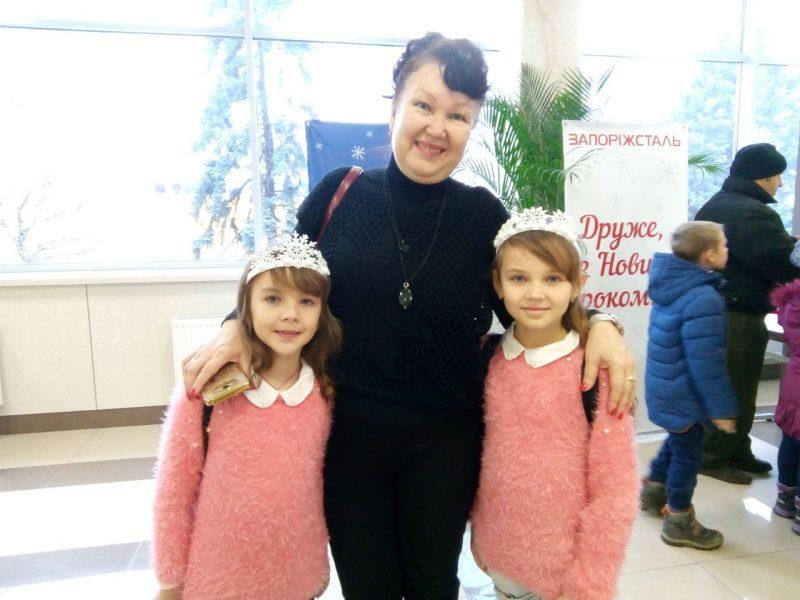 Алсу Давиденко: с внучками