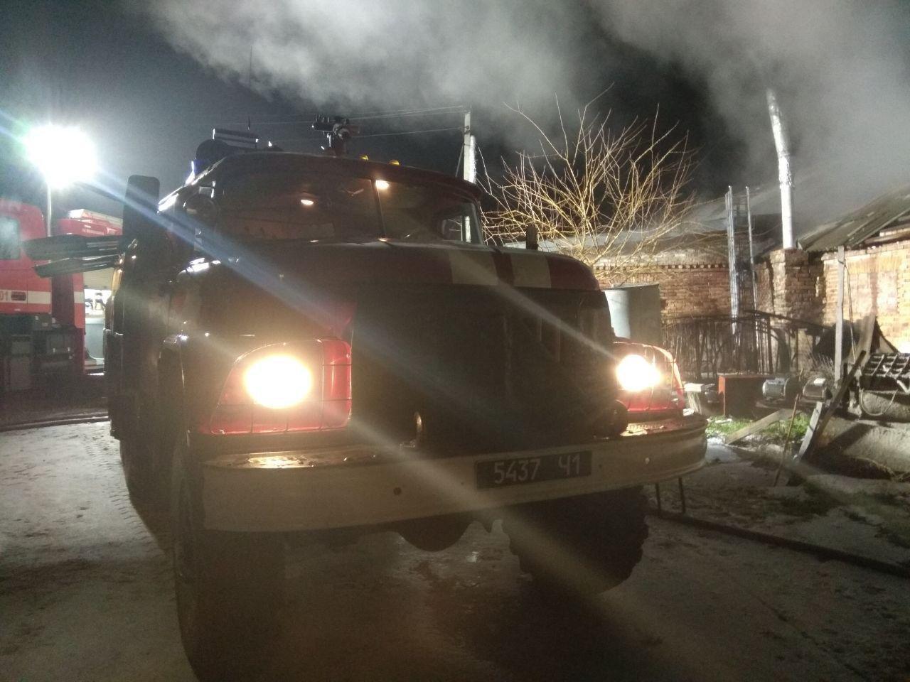 В Запорожском районе с пожара спасли поголовье свиней, – ФОТО