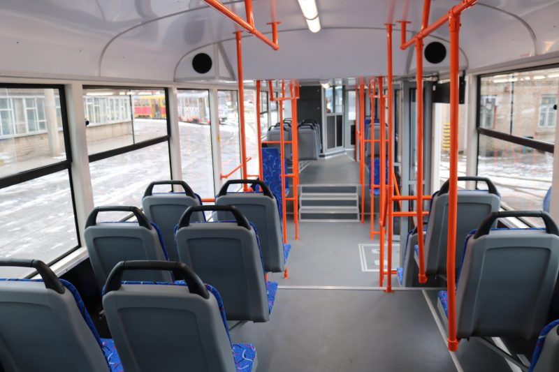 новые трамваи