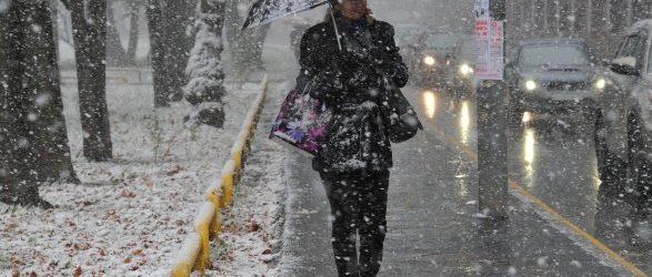 В Запорожье ожидается гололедица и мокрый снег