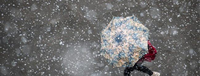 В Запорожье ожидается ухудшение погоды: мокрый снег, дождь и усиление ветра