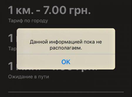 службы такси